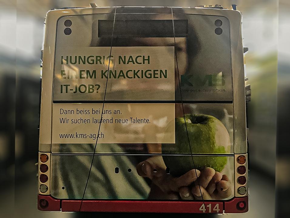 VBL Busbeschriftung in Luzern