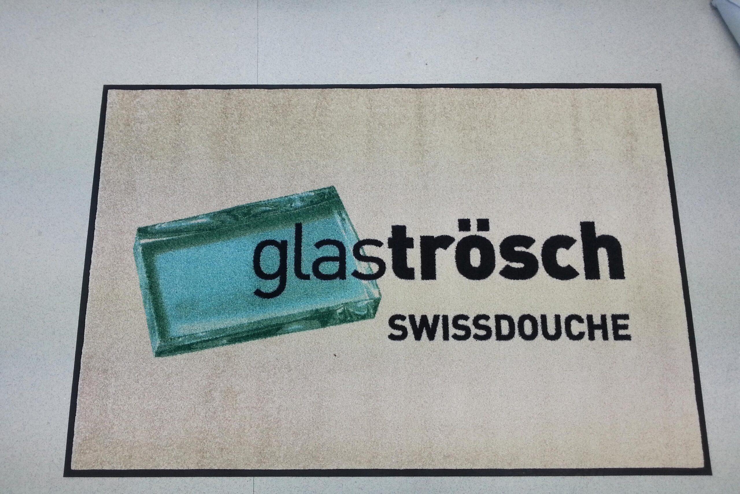 Schmutzfangmatten mit Logodruck