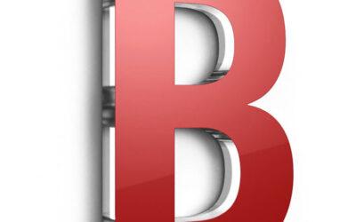 Acrylgasbuchstaben und Logos