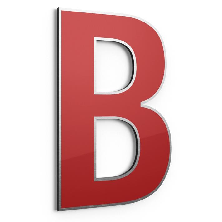 Buchstaben aus Dibond Alucabond