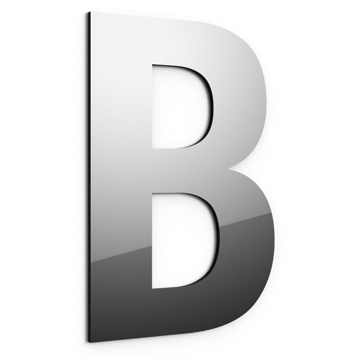 Buchstaben aus 3mm Dibond Spiegel