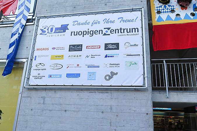 Monsterframe Blachen Ruopigen Zentrum Luzern